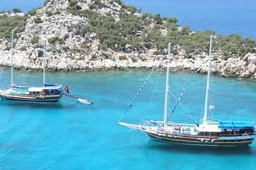 Fethiye To Olympos Cruise 4 Days 3 Nights Cabin Charter Gulet 360x240
