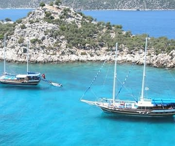 Fethiye To Olympos Cruise 4 Days 3 Nights Cabin Charter Gulet 360x300